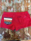 Tribal Designe painted shorts