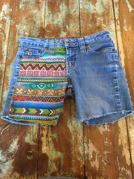 Tribal Design Junior Short
