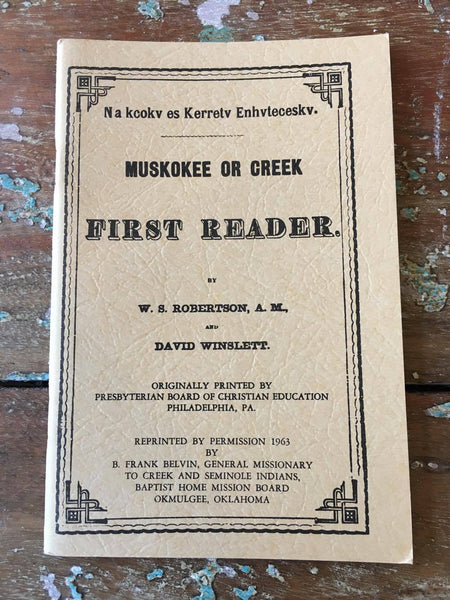 """MVSKOKE First Reader"""