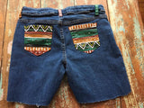 Native Design Painted Shorts - Girls Plus