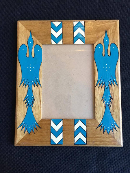 Native Painted Picture Frame
