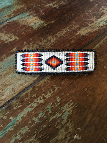 Beaded Hair Barrette