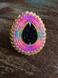 Beaded Ring - Adjustable