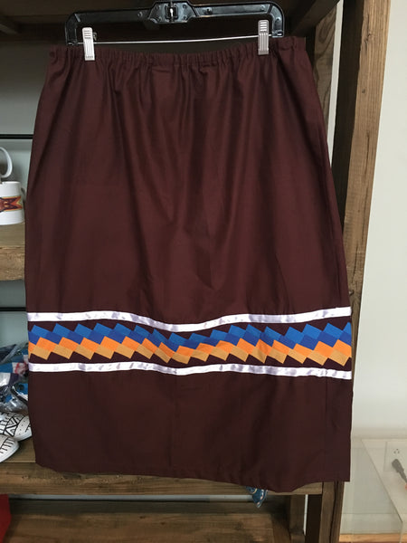 Patchwork and Ribbon Skirt - Adult
