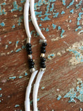 Dentalium Shell and Bead Necklace - 2 Strand