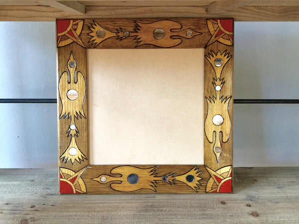 "Wood Picture Frame - 12"" x 12"""
