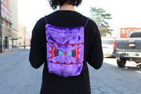 LA Deer Velvet Backpack
