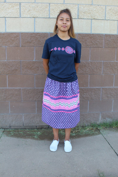 Girl's Patchwork Skirt