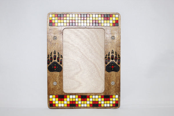 "Wood Picture Frame - 8.5"" x 6.5"""