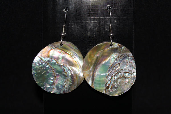 Shell Earrings - Medium Size (Various Designs)