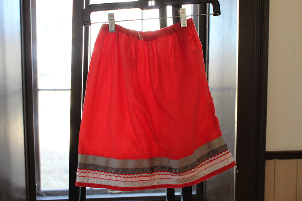 Girl's Ribbon Skirt