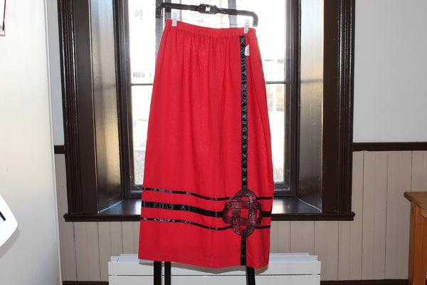 Ladies Ribbon Skirt - Medium