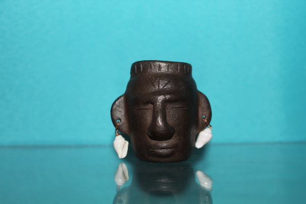Mini Clay Head Sculpture