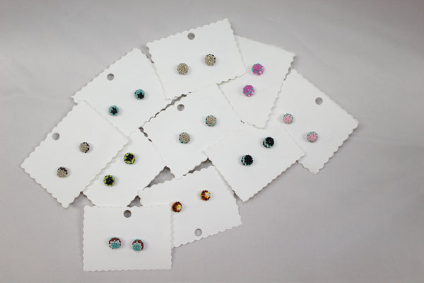 Small Beaded Studs - Various