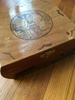 Painted / Carved Box