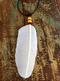 Beaded Feather