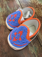 Beaded Baby Shoes - Newborn