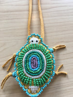 Beaded Locv (Turtle) Necklace