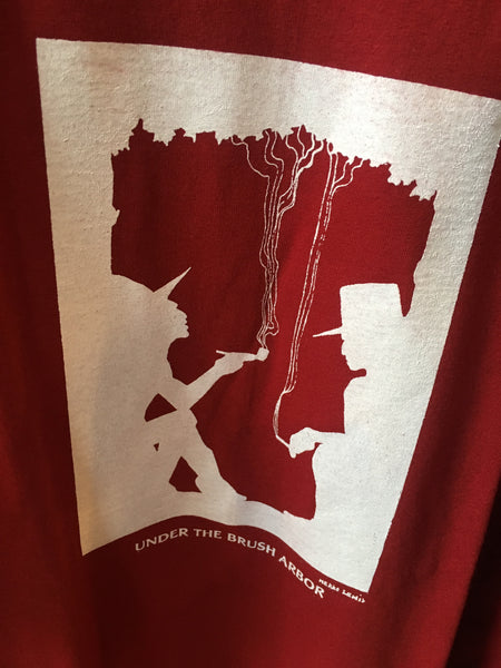 """Under The Brush Arbor"" Red T-shirt - 3XL"