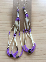 Long Quill Earrings
