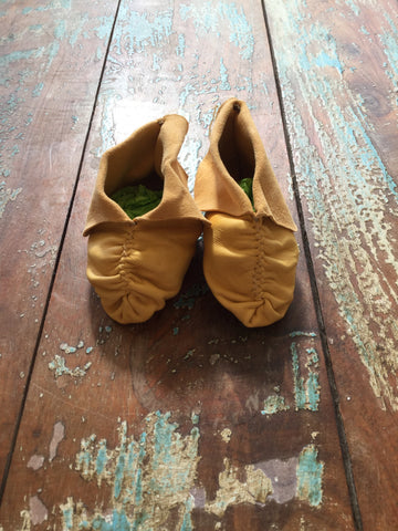 Toddler Pucker Toe Moccasins