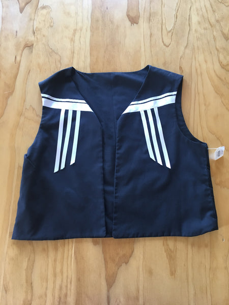 LIttle Boys Ribbon Vest
