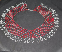Red Beaded Collar