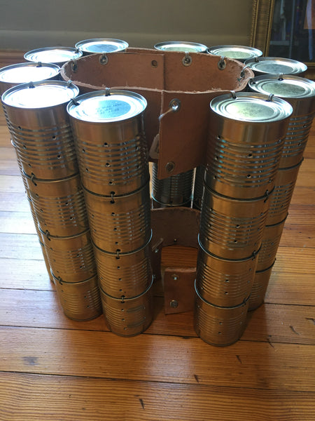 Stompdance Cans - 20 tomato sauce cans