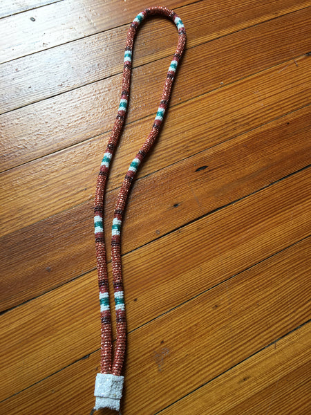 Fully Beaded Lanyard