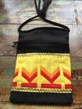Patchwork Crossbody Canvas Purse