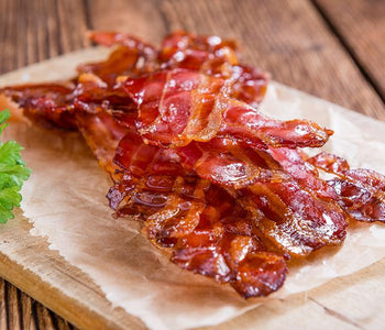 Truffle Maple Glazed Bacon
