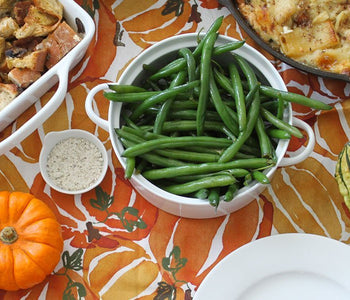 Green Beans with Rosemary Truffle Salt