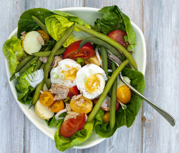 Truffle Hot Tuna Nicoise Salad
