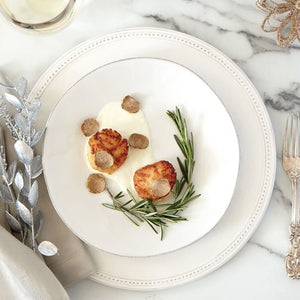 Truffle Seared Scallops and Cauliflower Puree