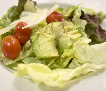 Butter Lettuce served with Grilled Avocados and Truffle Vinaigrette