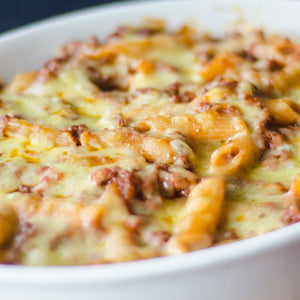 Cripsy Bacon Truffle Macaroni and Cheese