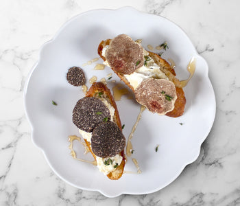 Ricotta Crostini with Truffle Honey