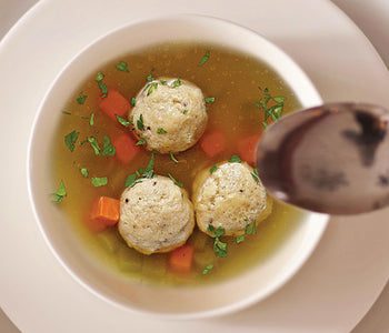 Truffle Matzo Ball Soup