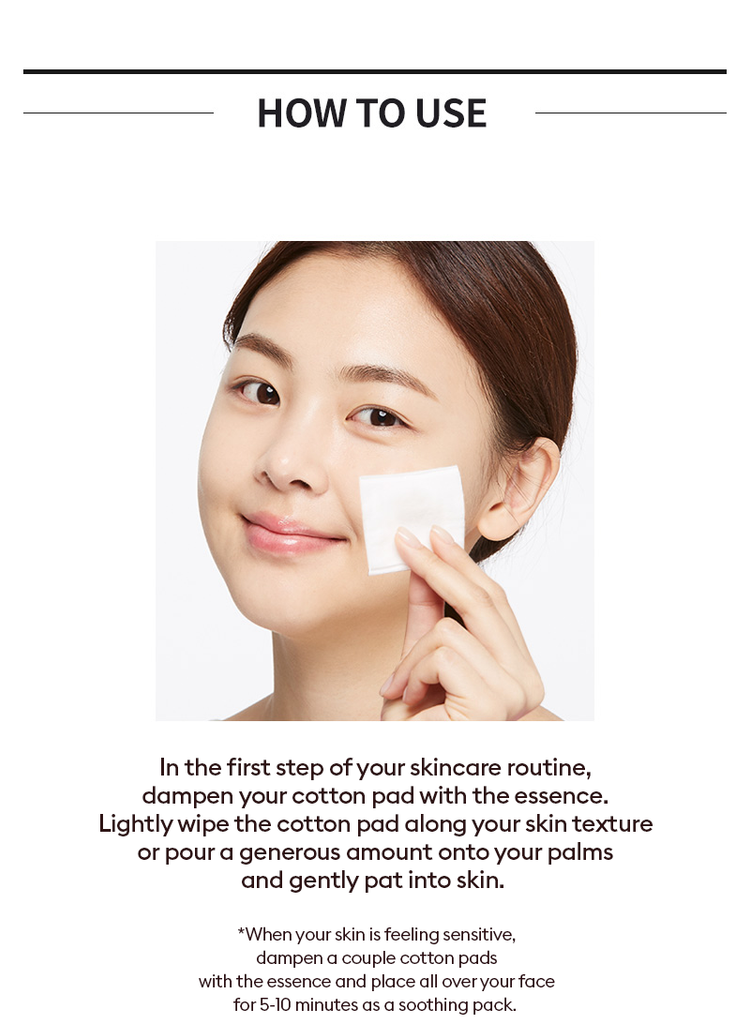Missha Artemisia Treatment Essence usage