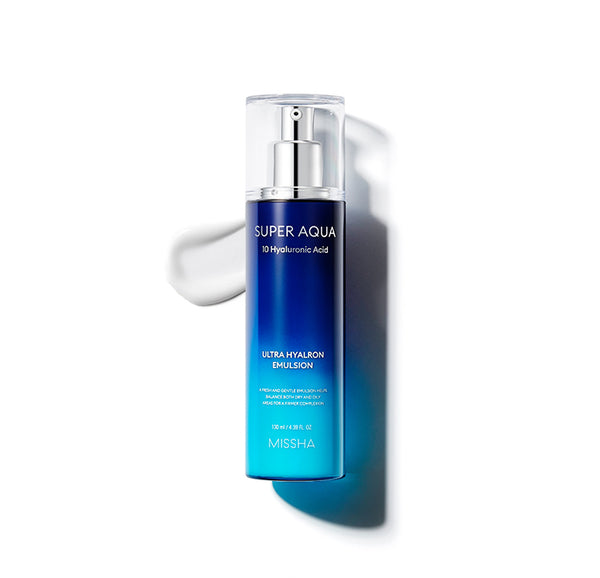 MISSHA SUPER AQUA ULTRA HYALRON EMULSION 130ML - Missha Middle East