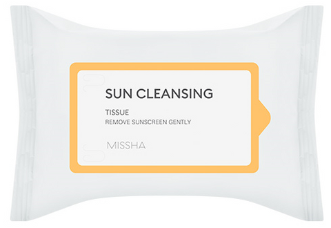 All Around Safe Block Sun Cleansing Tissue - Missha Middle East