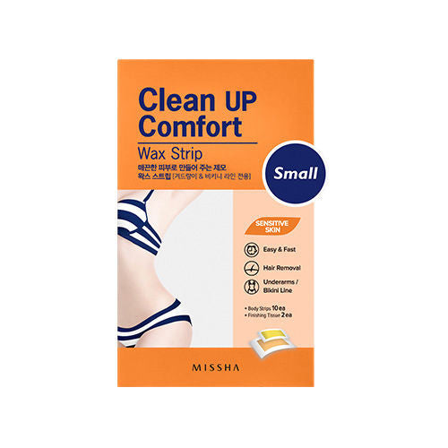 Clean Up Comfort Wax Strip (Small) - Missha Middle East