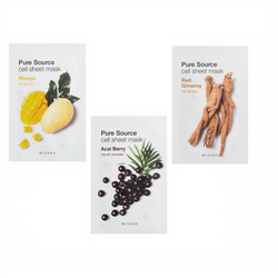 Missha Mix Pure source Cell Sheet Masks Set - Missha Middle East