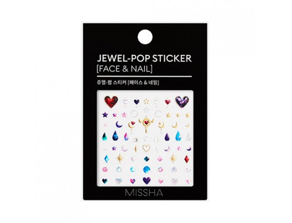 Missha Jewel Pop Sticker [Face & Nail] - Missha Middle East