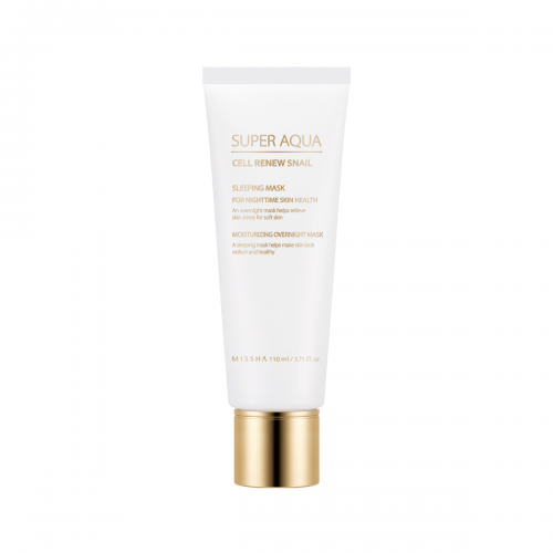 MISSHA SUPER AQUA CELL RENEW SNAIL SLEEPING MASK - Missha Middle East