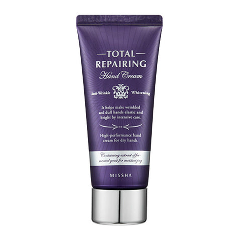 Total Repairing Hand Treatment Hand Cream 60mL Anti-Wrinkle & Whitening - Missha Middle East