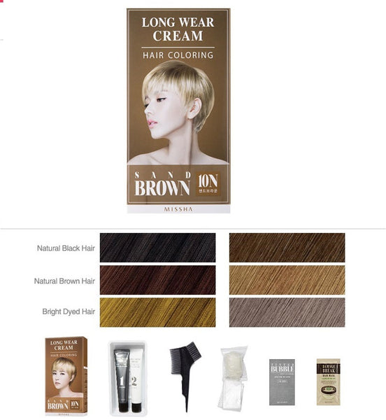 Long Wear Cream Hair Coloring (Orange Brown) - Missha Middle East