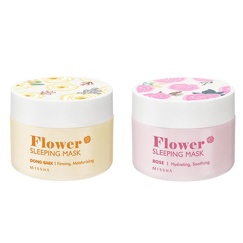 Flower Sleeping Mask - Missha Middle East