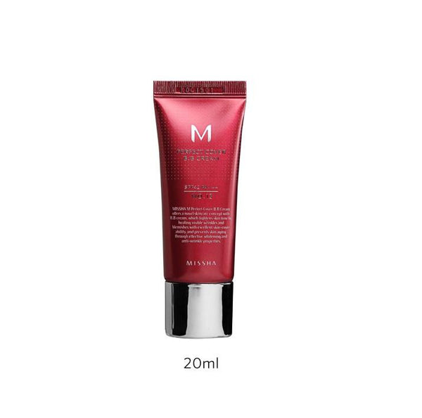 MISSHA M PERFECT COVER BB CREAM SPF42/PA+++ 20ML - Missha Middle East