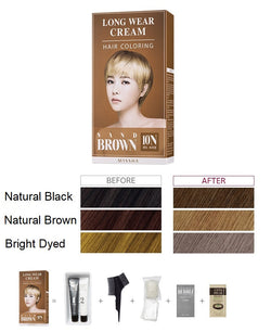 Long Wear Cream Hair Coloring (Sand Brown) - Missha Middle East
